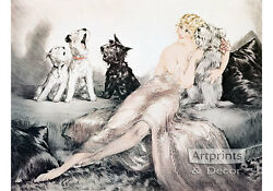 Perfect Harmony by Louis Icart Art Print of Vintage Art $16.99