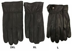 Genuine Leather Driving Thinsulate Insulation Comfort Winter Men Women Gloves $18.49