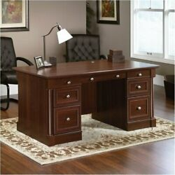 Bowery Hill Executive Desk in Select Cherry $721.44