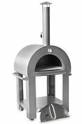 Outdoor Commercial Kitchen Stainless Authentic Wood-Fired Pizza Fire Brick Oven
