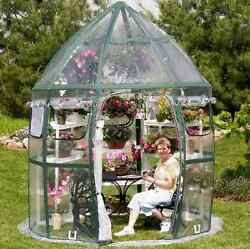 Greenhouse Kits Portable Flowerhouse Gardening Herbs Poly Plastic Easy Assembly