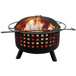 Landmann City Lights Memphis Fire Pit Black
