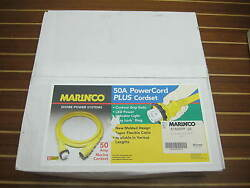 Marinco 6152SPP 25' 50A 125250V PowerCord Plus Boat Yacht Shore Power Cable
