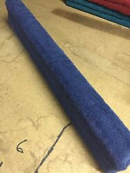 (2) Royal Blue - 8' Boat Trailer Bunk Boards 2x4 - w Carpet - Outdoor Marine