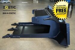 Blue Diamond Slab Bucket Skid Steer Attachment