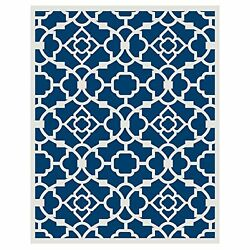Budge Monaco Outdoor Patio Rug RUG057RB1 5ft Long x 7ft Wide Royal Blue New