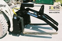 Blue Diamond Grapple Fork Frame Skid Steer Attachment Tines sold separately