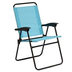 Rio Brands Sienna Folding Chair Turquoise Patio Lounge Chair New