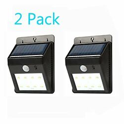 LED SopoTek 8LED Security Motion Sensor Light Outdoor WallGarden Lamp Motion Se