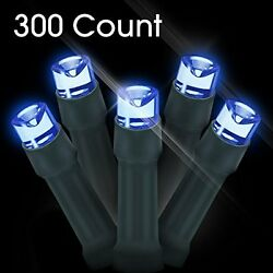 LED Christmas Lights 300 Count LED Solar Powered String Lights Holiday Decoratio