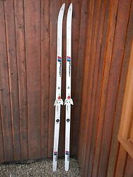 Ready to Use Cross Country 75quot; Red and White ARTIS 190 cm Skis $49.93