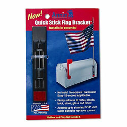 Quick Stick Flag Bracket Quick Stick Mailbox Railing Posts Columns Rustproof