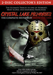 Crystal Lake Memories: The Complete History of Friday the 13th [New DVD]