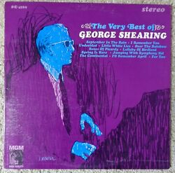 GEORGE SHEARING 1963 LP ~THE VERY BEST OF GEORGE SHEARING~ MGM SE-4169 VG+ JAZZ