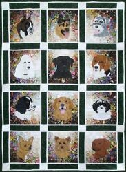 Whims Watercolor Quilt Kits Rachel's Dog Kennel Quilting Supplies