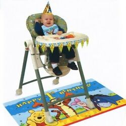Pooh and Pals High Chair Kit. Delivery is Free