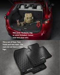 2017 2021 Mazda CX 5 Cargo Tray and All Weather Floor Mats Set of 4 $182.67