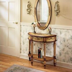 Butler Specialty Artists' Originals Demilune Console Table in Light