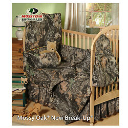 MOSSY OAK CAMO INFANT CRIB BEDDING SET - 7 PCS!! -CAMOUFLAGE BABY INFANT  NEW