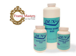 Dux Water Based Gold Gilding Size Leafing Size Gilding Adhesive - Made In USA
