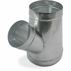 6x6x4 Single Wall Metal WYE for Connecting Duct Fittings Ventilation Branch $21.99