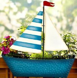 Railing Planters Deck Rail Box Outdoor Patio Unique Porch Flower Pot Garden Boat