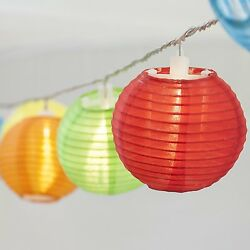 24 Multi Color Mini Nylon String Patio Lights - Extra Long 16ft - Waterproof ...