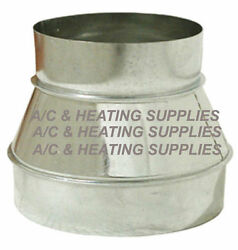 Single Wall Metal Reducer Increaser for Duct Other purpose.Expedited $6.99