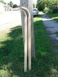 set of Wood Oak Walking Plow replacement Handles Horse Drawn $36.95