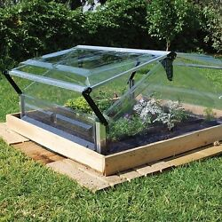 Greenhouse Kit Double 3x3ft. Mini Weatherproof Door Window Small Garden Backyard