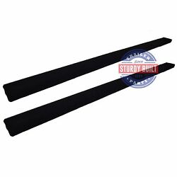 (2) 8 Foot Boat Trailer Bunk Board Runners Pre Carpeted 2 inch x 6 inch