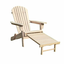Merry Garden ADC0302200000 Northbeam Adirondack Chair Kit With Pullout Ottoman