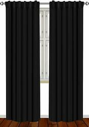 Window Curtains Blackout Room Thermal Insulated 2 Panels 52x84quot; Utopia Bedding $23.95
