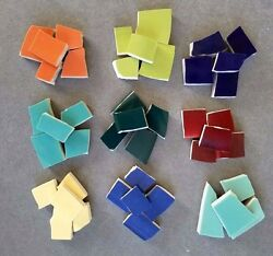 VARIETY of SOLID COLOR MOSAIC TILES