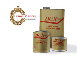 Dux Quick Dry Oil Based Gold Gilding Size Gilding Adhesive Gold Leaf Size