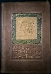 L M Montgomery ANNE OF GREEN GABLES 1909 1st ed early Printing Illustrated Rare