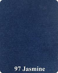 24 oz Cut Pile Marine Outdoor BASS Boat Carpet - 8.5' x 30' - JASMINE ROYAL BLUE