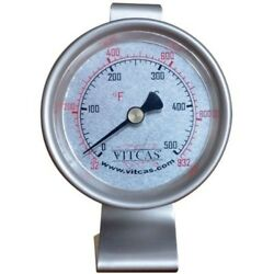 Pizza & Bread Oven Thermometer For Outdoor Pizza Oven - VITCAS. Delivery is Free