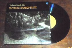 Exotic Sounds of the Japanese Bamboo Flute record album  $4.95
