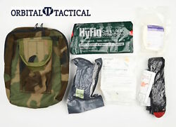 Tactical Tailor Military IFAK Utility First Aid Woodland Pouch Medic Supply