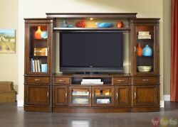 Hanover Large TV Entertainment Center Unit with Piers