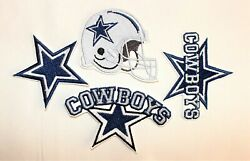NFL Dallas Cowboys Embroidered  Iron-on Patches FREE SHIPPING -US  $15.00