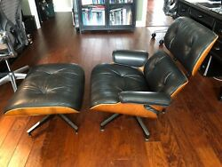 Original Herman Miller Eames Lounge Chair and Ottoman
