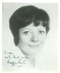 Maggie Smith (Vintage Inscribed) signed photo COA