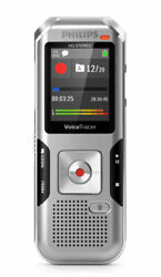 Philips DVT4100 VoiceTracer Digital Voice Recorder Dragon Certified - NEW!