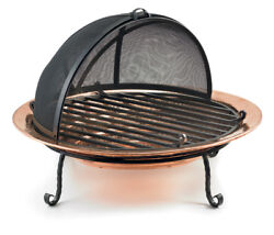 Medium Copper Fire Pit by Good Directions