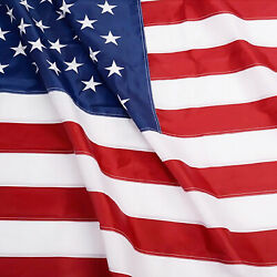 Anley EverStrong American US Flag Heavy Duty Nylon Embroidered Stars USA Flags $25.95