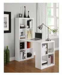 Hobby Table Storage Cubbies Sewing Desk Office Furniture Craft Supplies Cabinet