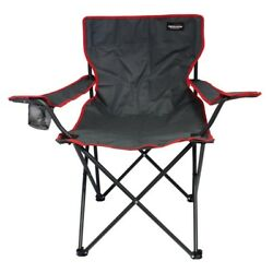 (Red 2) - FOLDING CAMPING CHAIR GARDEN FESTIVAL FOLDABLE LOUNGER FOLD UP SEAT