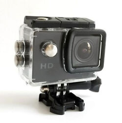 Waterproof Outdoor Sports Action Camera Mini DV 640*480 2 inch LCD With 90º Lens